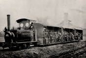 Pegswood, Pitmen's Train