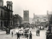 Morpeth, Market Place Scene