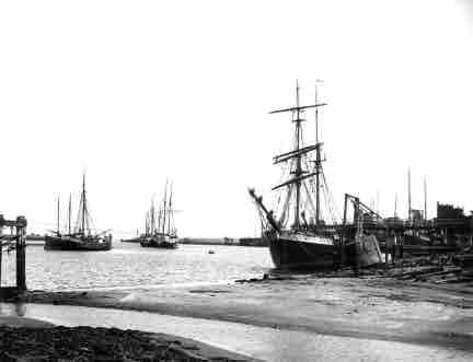 Picture of Amble, Ships in the Harbour