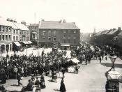 Morpeth, Horse Procession - Click for bigger image