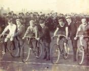 Bedlington, Cycle Race - Click for bigger image
