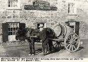 Bedlington, Matthew Wintrip with his Water Cart - Click for bigger image