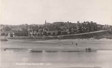 Picture of Alnmouth from Church Hill