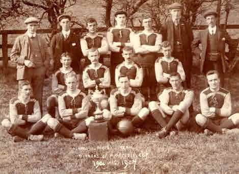 Picture of Alnmouth Football Team