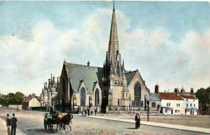 Picture of Berwick, Wallace Green Church