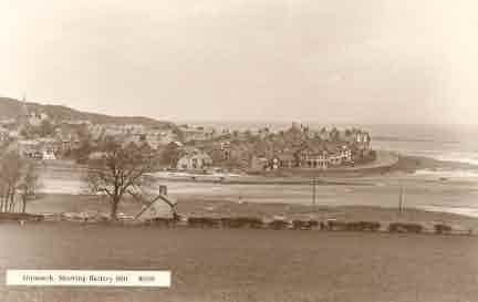 Picture of Alnmouth, View of Village and Coastline