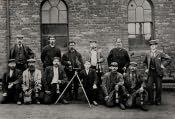 Shilbottle, Colliery Officials - Click for bigger image