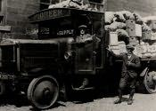 Cramlington, Co-op lorry during 1926 strike - Click for bigger image