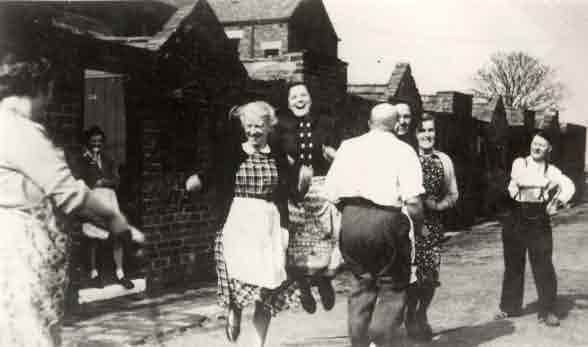Picture of Cramlington, friends in East View Avenue