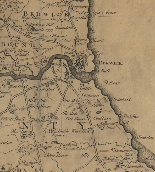 Picture of Armstrong's Map of Northumberland