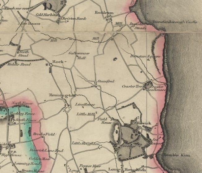 Picture of Fryer's Map of Northumberland