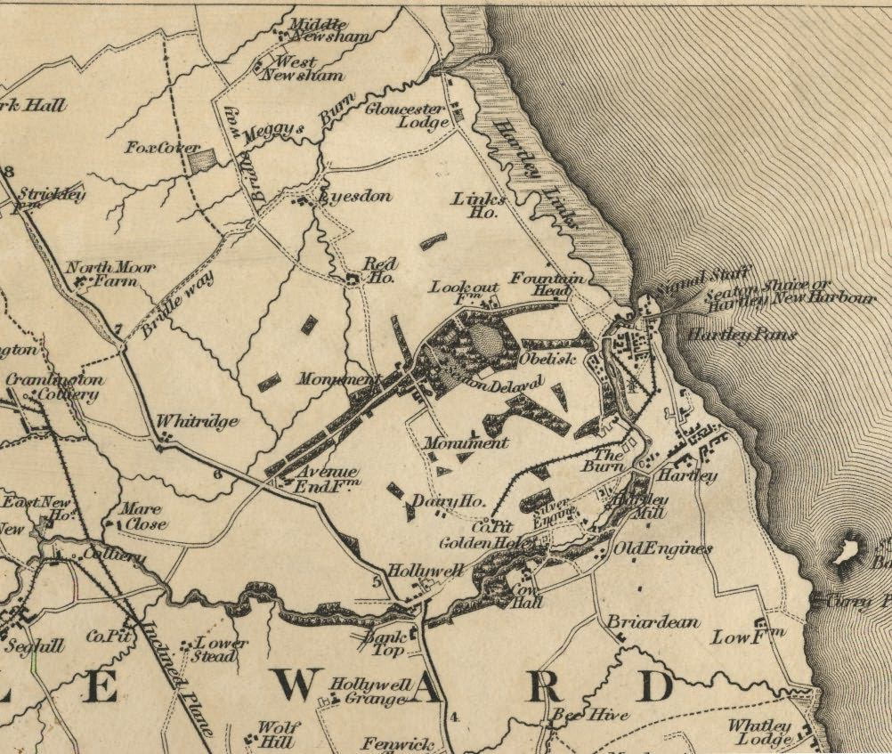 Picture of Greenwood's Map of Northumberland
