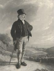 Wylam, Portrait of Thomas Bewick - Click for bigger image