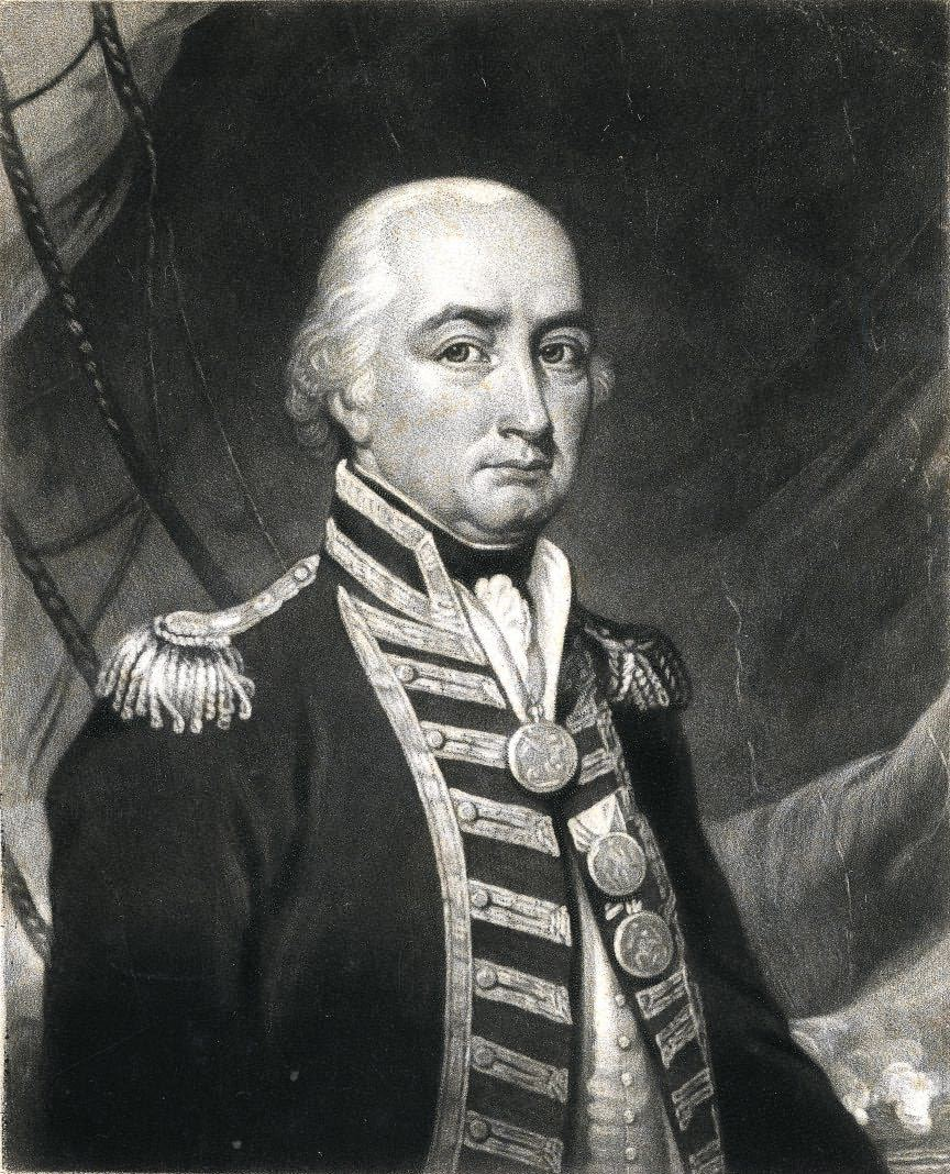 Picture of Portrait of Cuthbert, Admiral Lord Collingwood