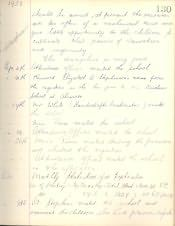 Alnmouth County Primary School, Log Book - Click for bigger image