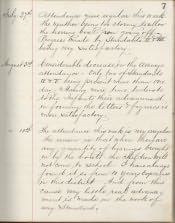 Beadnell Church of England First School, Log Book - Click for bigger image
