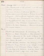 Newbiggin by the Sea Church of England School, Log Book - Click for bigger image