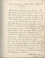 Cornhill County First School, Log Book - Click for bigger image