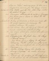 Amble Church of England County Primary School, Log Book - Click for bigger image
