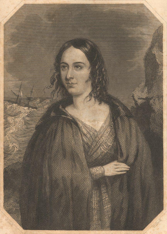 Bamburgh, Portrait of Grace Darling