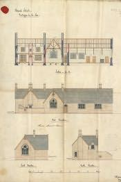 Newbiggin-by-the-Sea National School Building Plan - Click for bigger image