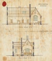 Bedlington Church of England School Building Plan - Click for bigger image
