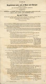 Port of Blyth Regulations and Charges - Click for bigger image