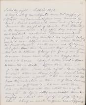 Letter by Josephine Butler - Click for bigger image