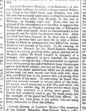 Hexham Courant - Click for bigger image