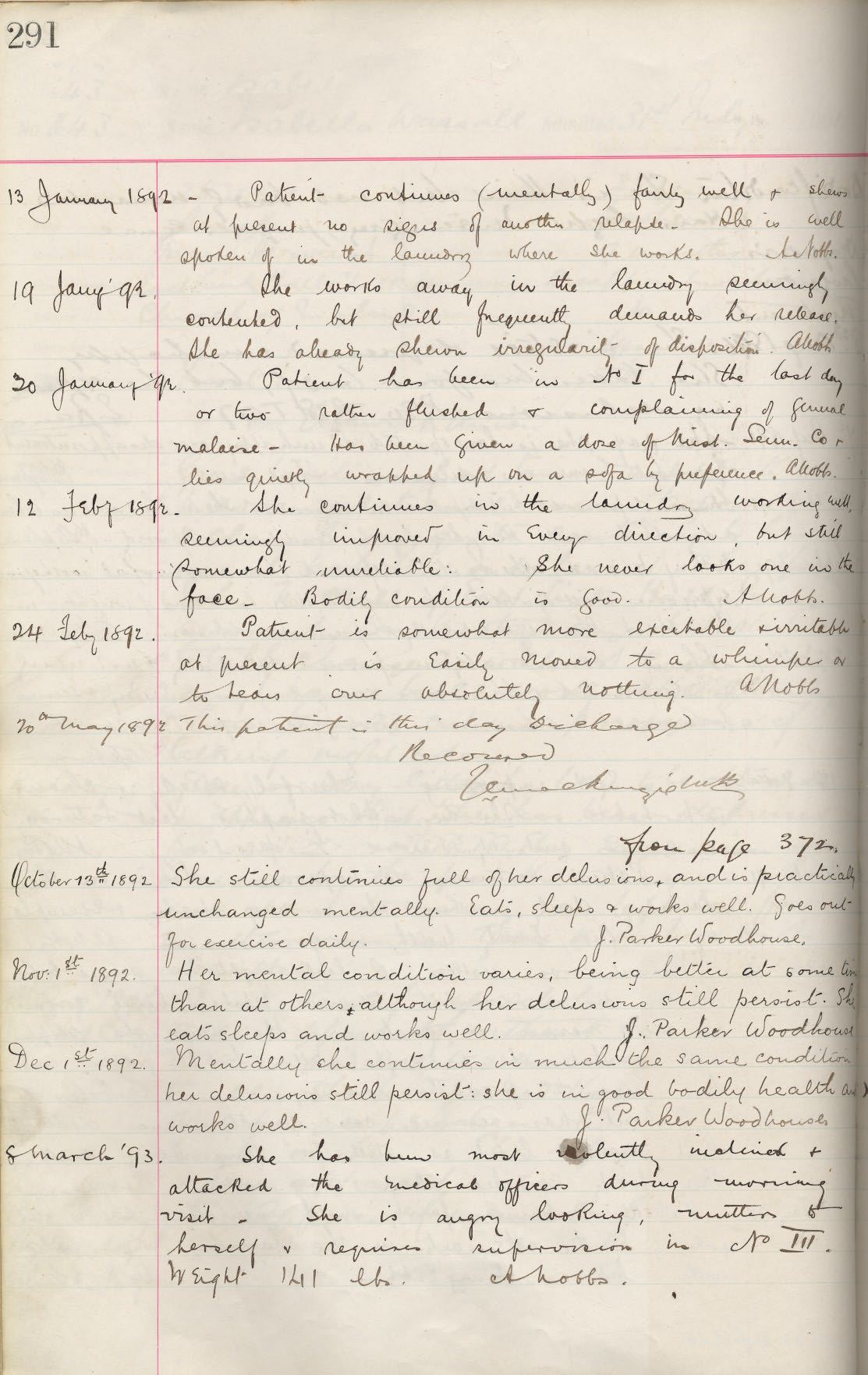 Picture of Morpeth St. George's Patient Case Book